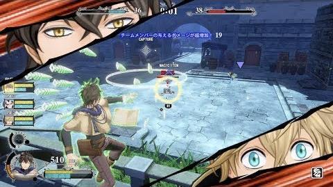 Black Clover Quartet Knights - Zone Control Trailer PS4, PC