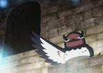 Nero muestra un camino a través de la mazmorra