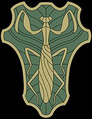 Insigne Mante d'Emeraude