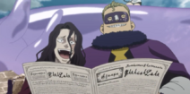 Gueldre and Revchi laugh about Asta's trial