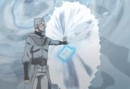 Heath congelando ninho do dragão do mar