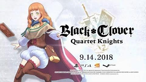 Black Clover Quartet Knights - Mimosa Character Trailer PS4 PC