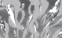 Jaula de gelo infinito-gelo e nevoa preparados para atacar