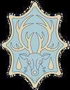 Azure Deer Insignia