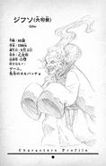Gifso Character Profile