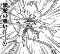 Asta attacked by chains