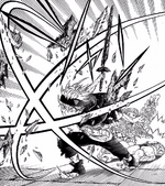 Asta saves Mimosa and Noelle from Mars attack