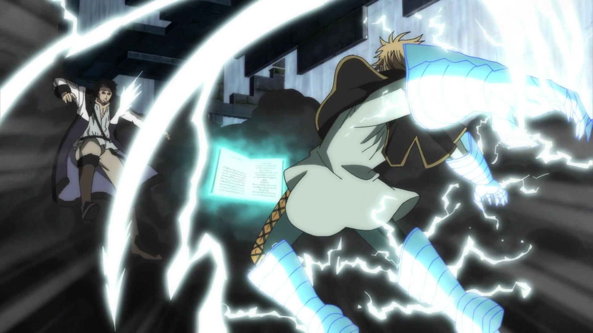 Lightning Magic Black Clover Wiki Fandom Powered By Wikia