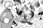 Leopold and Noelle fighting a corpse