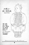 Hamon Caseus Character Profile