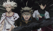 Asta, Yuno and Patolli team up