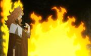 Mereoleona burns two Astas