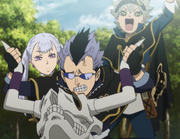 Magna giving Asta and Noelle a ride