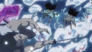 Dark Cloaked Avidya Reverse Blade Strike