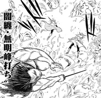 Yami's Reverse Blade Strike