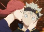 Rebecca kisses Asta