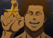 Yami shows the star of excellence
