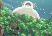 Giant sheep spell