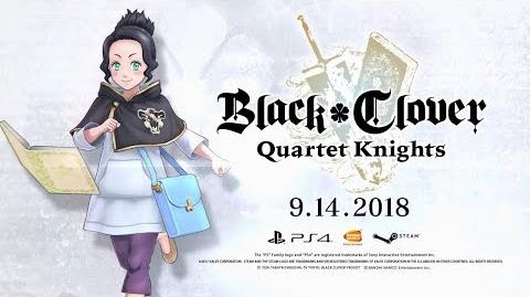 Black Clover Quartet Knights - Charmy Character Trailer PS4, PC