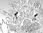 Mars s'apprête à attaquer Noelle et Mimosa