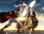 Licht stabs Julius