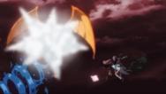 Dragão do mar explodindo