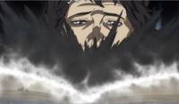Prisão do rei caido fumaça saindo do grimório