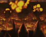 Clover Kingdom Royal Capital under attack