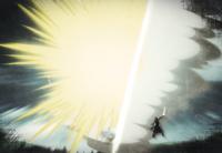 Light and Sword Magic clash