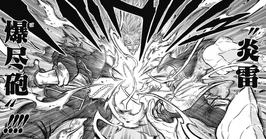 Cañón Explosivo del Trueno Llameante