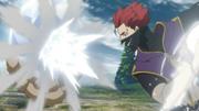 Zora destroys the crystal