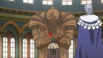 Cavaleiro de Areia sgurando asta-por sandler