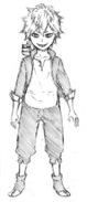 Asta initial concept full body
