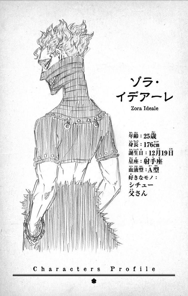 OBD Wiki - Character Profile - Zora Ideale