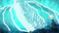Sol summoning an earth wall