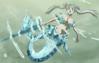 Mermaid Form of Valkyrie Dress