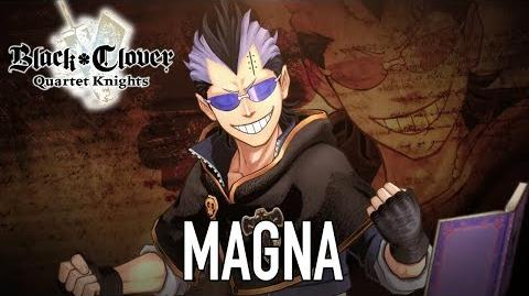 Black Clover Quartet Knights - PS4 PC - Magna (Character introduction)