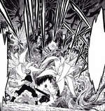 Asta and Yuno vs Elf