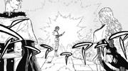 Yuno encuentra el pergamino de Sylph.