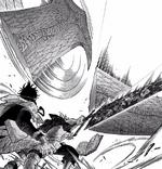 Asta protege a Yuno de Mars