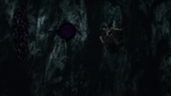 Valtos atacando yami com bala mágica