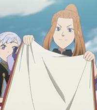 Domina's cloak