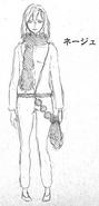 Neige initial concept full body