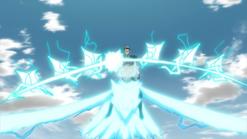 Caballería del Ave del Trueno - Armamento del Arco Mágico que parte los Cielos