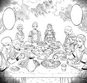 Elves last supper