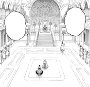 Clover throne room