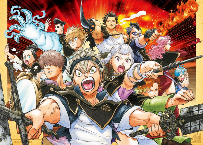 Image result for picture of black clover