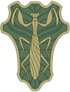 Green Mantis Insignia