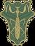 Green Mantis Insignia