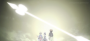 Large light arrow